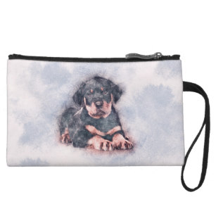 307x307 Rottweiler Drawing Bags Zazzle