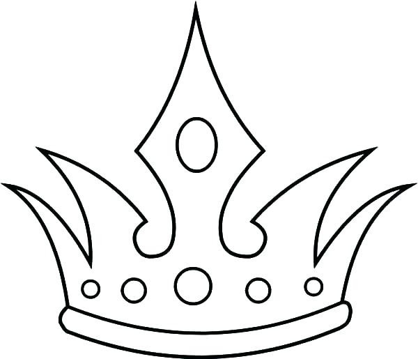 600x515 Queen Crowns Coloring Pages Fresh Best Royal Crown Jewels