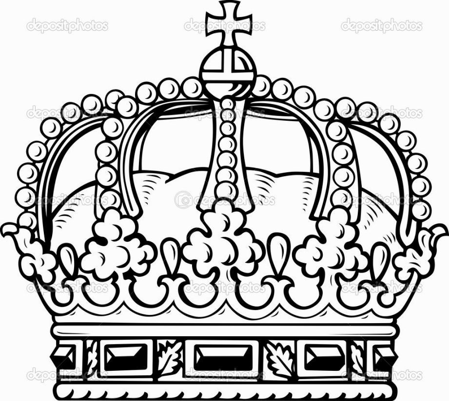 921x824 Royal Crown Coloring Pages New Princess Crown Drawings