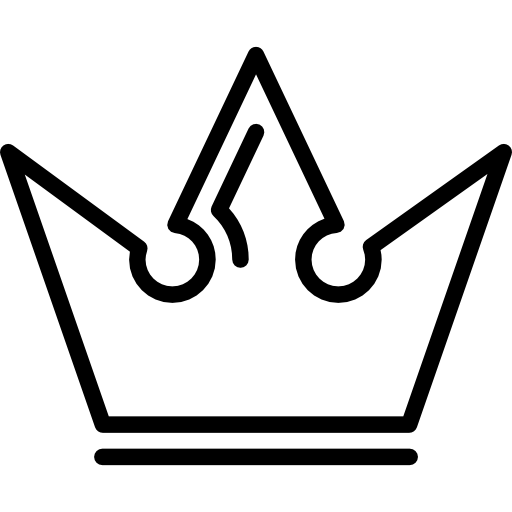 512x512 Royal Crown Of A King Icons Free Download
