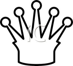 300x271 Crown Drawing Queen Crown Within Crown Clipart Black And White