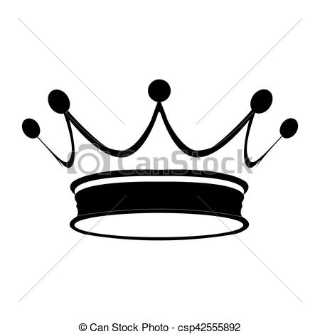 450x470 royal crown isolated silhouette of a royal crown, vector