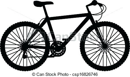 450x268 Biking Clip Art Mountain Bike Illustrations And Royalty Free