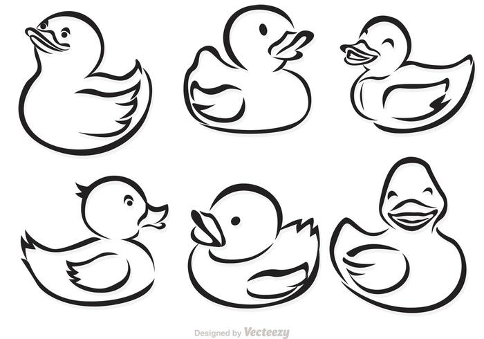 700x490 daffy duck rubber duck drawing rubber duck outline free rubber