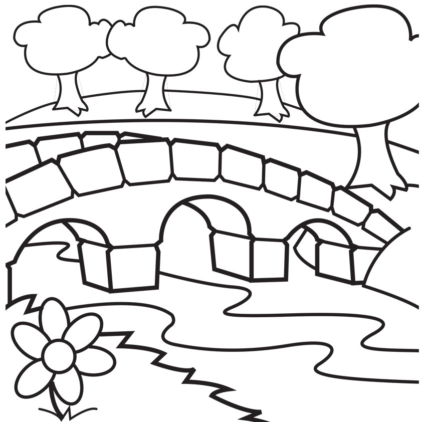 842x842 Collection Of Free Bridged Clipart Coloring Pages Download On Ui Ex