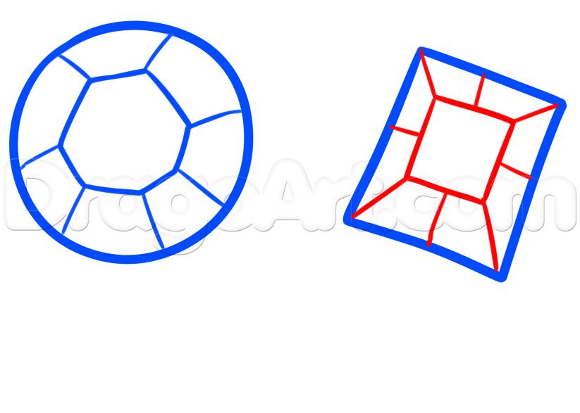 823x587 How To Draw Rubies, Step