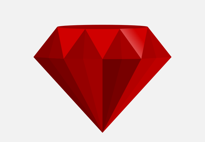720x500 How To Draw A Ruby In Inkscape