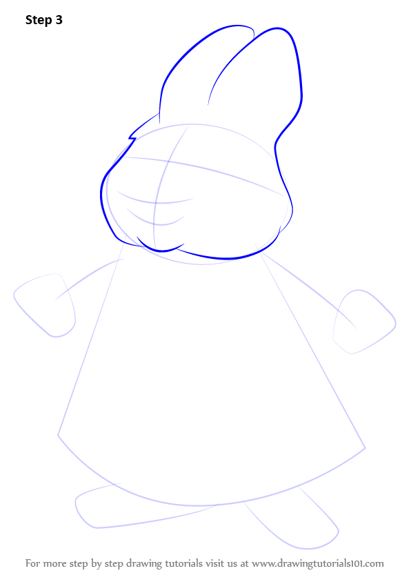 596x843 Learn How To Draw Louise From Max And Ruby