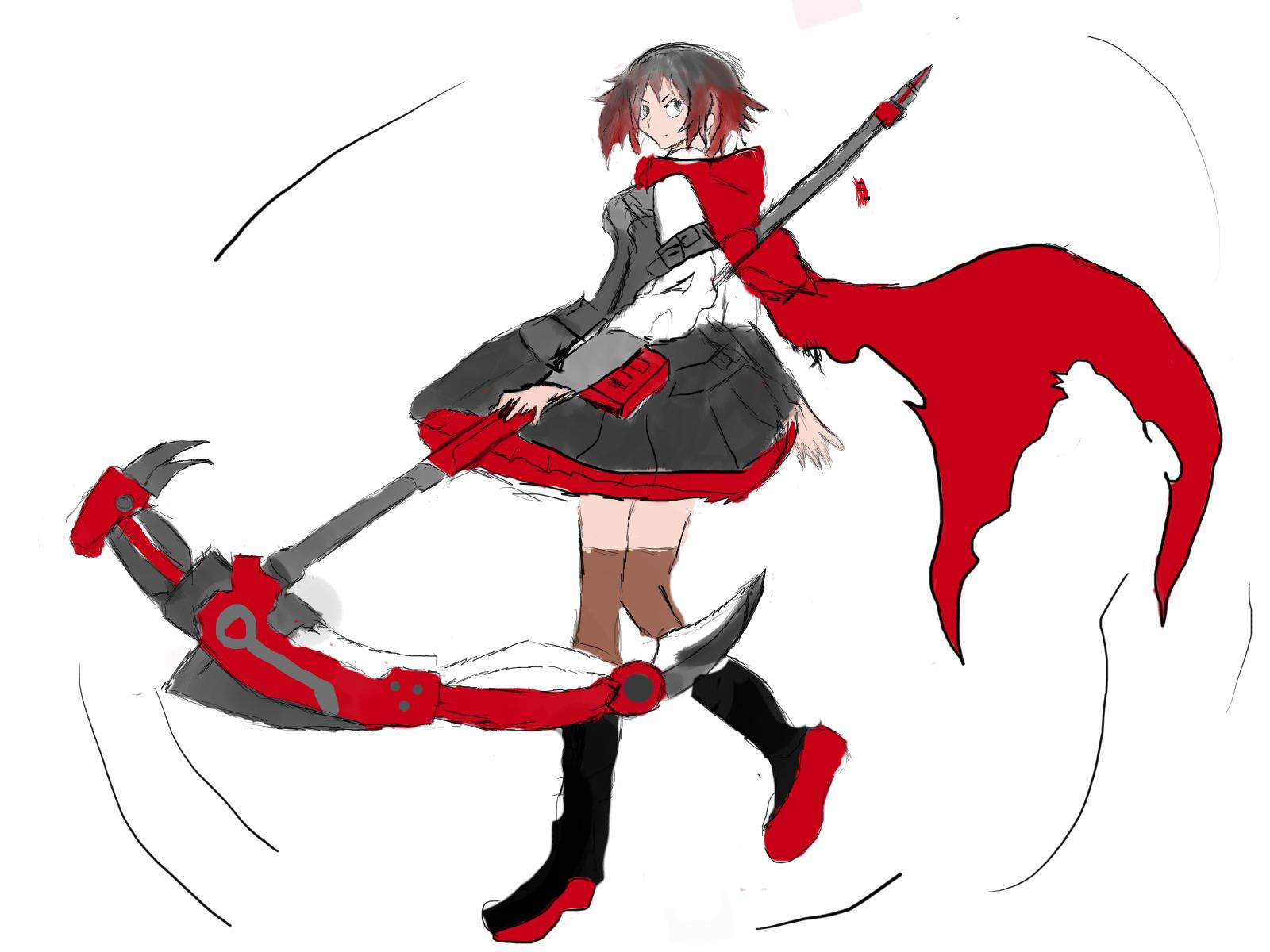 1600x1200 My Sketchy Ruby Drawing