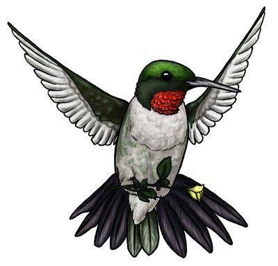 400x383 Hummingbird Clipart Free