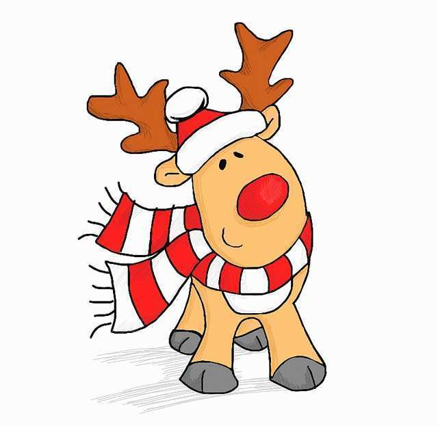 640x623 reindeer drawing awesome rudolph the red nosed reindeer drawing