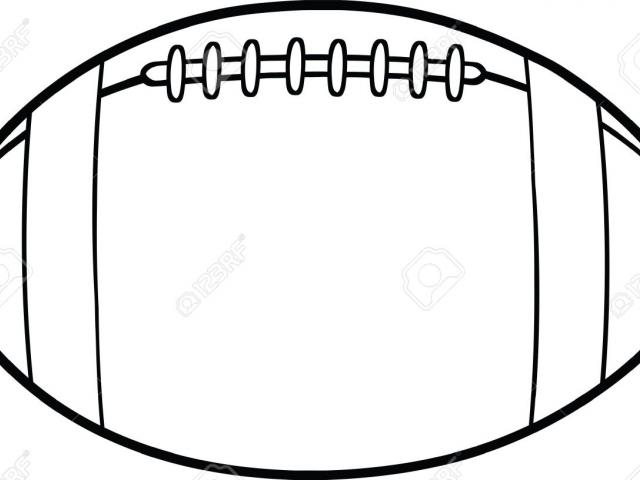 640x480 Rugby Ball Clipart Real Football