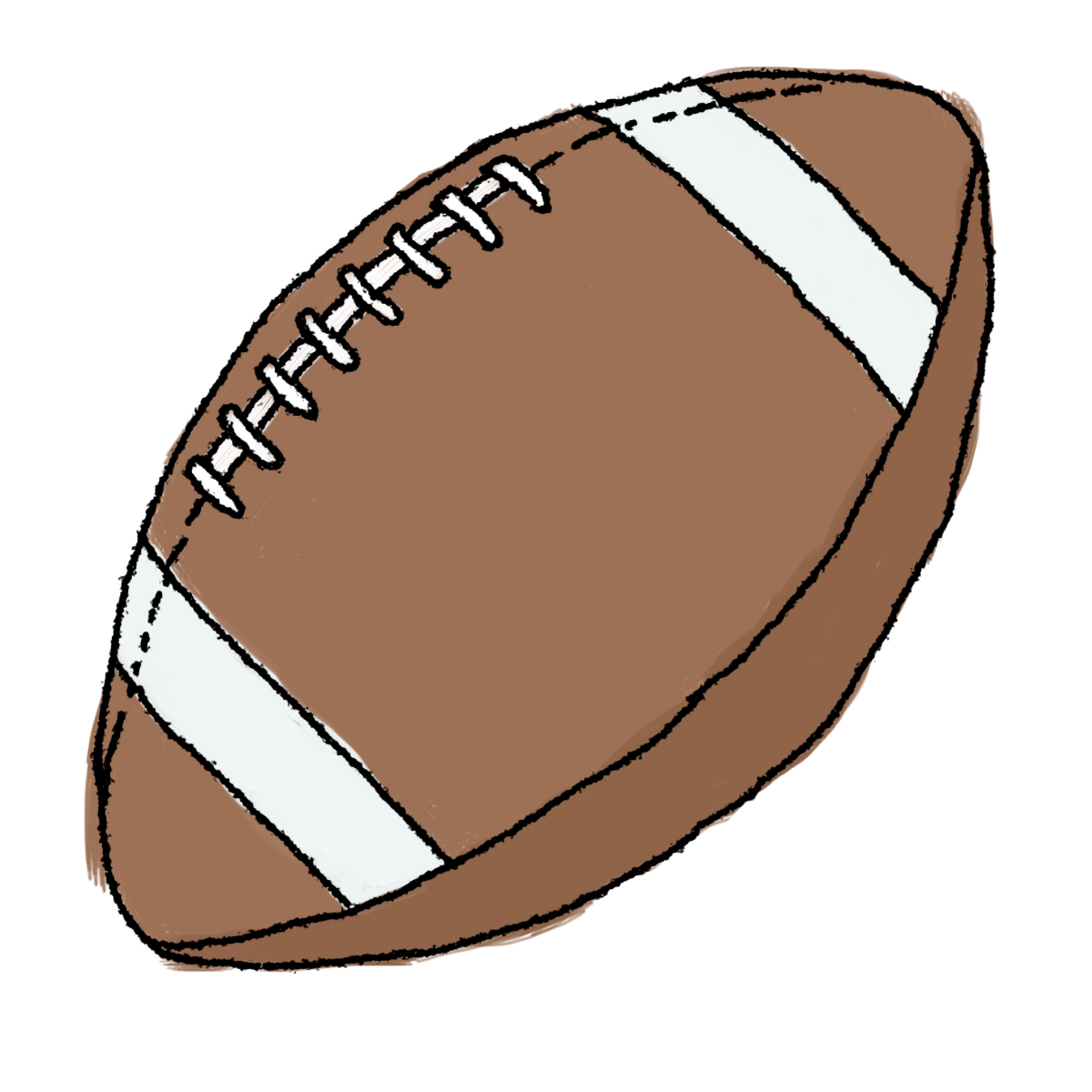 1200x1200 Superbowl Drawing Football Ball Transparent Png Clipart Free