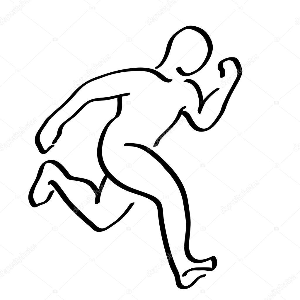 Runner Drawing