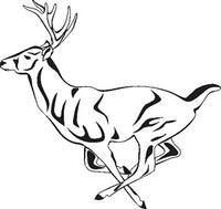 200x189 Paper Transfer Deer Running