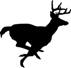 236x226 best deer images deer silhouette, buck deer, line drawings