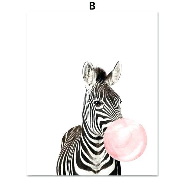 640x640 Simple Zebra Drawing Running