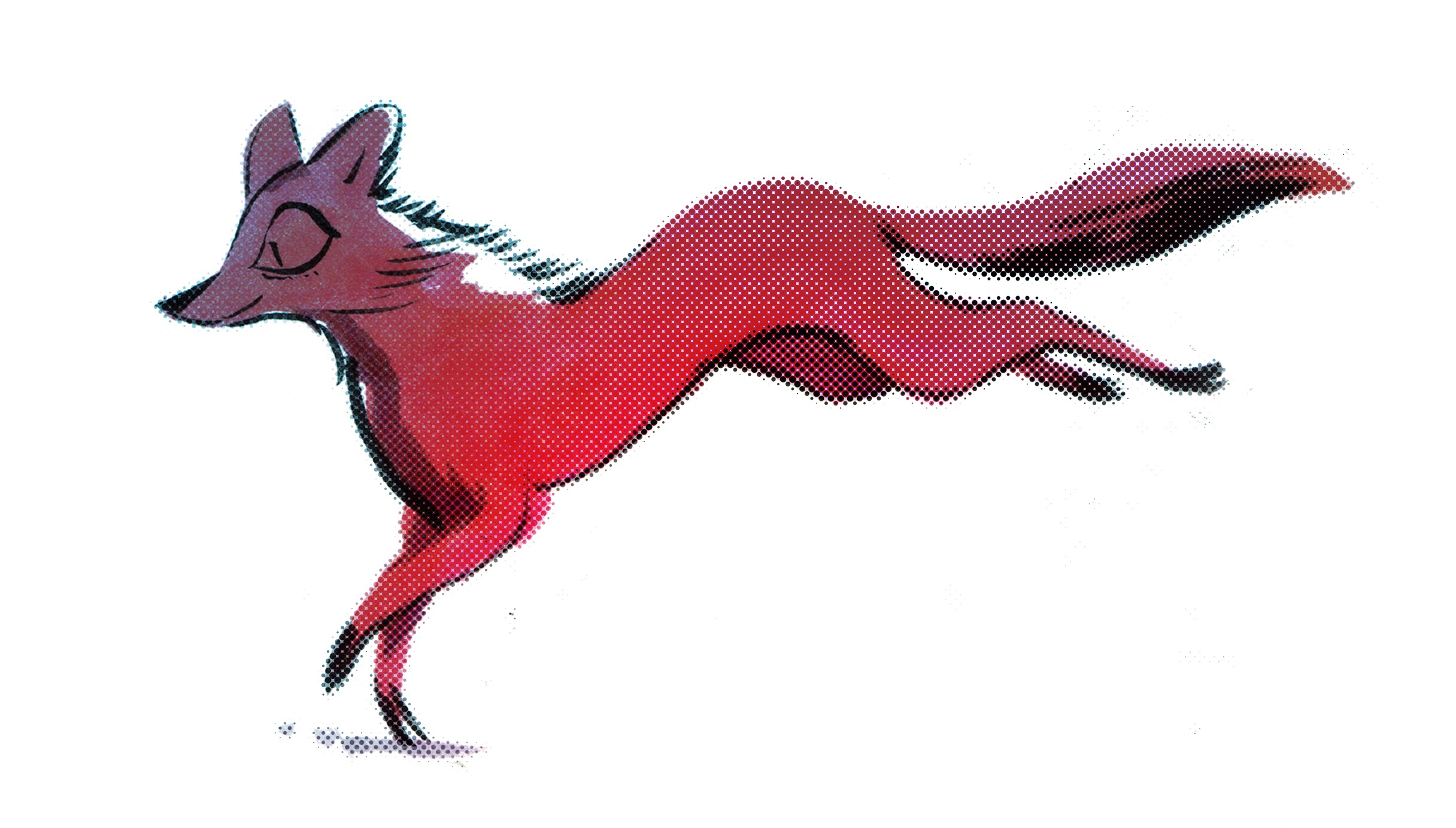 2432x1384 How To Draw A Fox Running