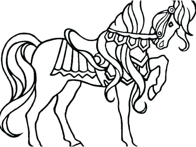 640x480 running horse coloring pages horse pictures for coloring running