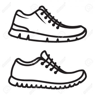 336x336 Easy Horseshoe Drawing Of A Shoe Ballet Dance Step