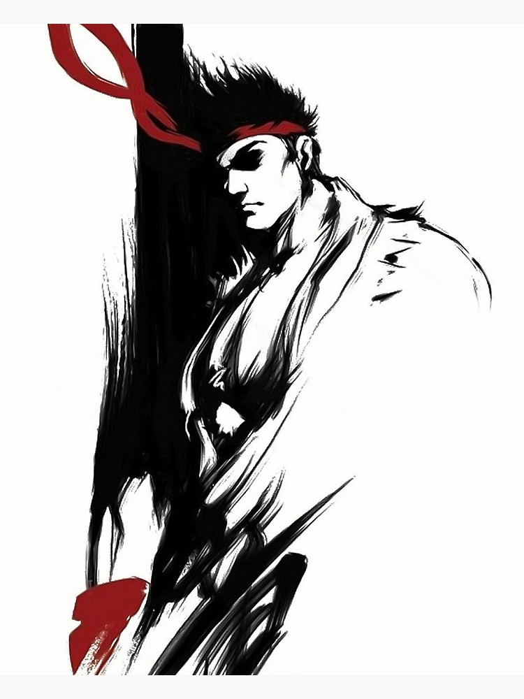 Ryu Drawing Free Download Best Ryu Drawing On Clipartmagcom