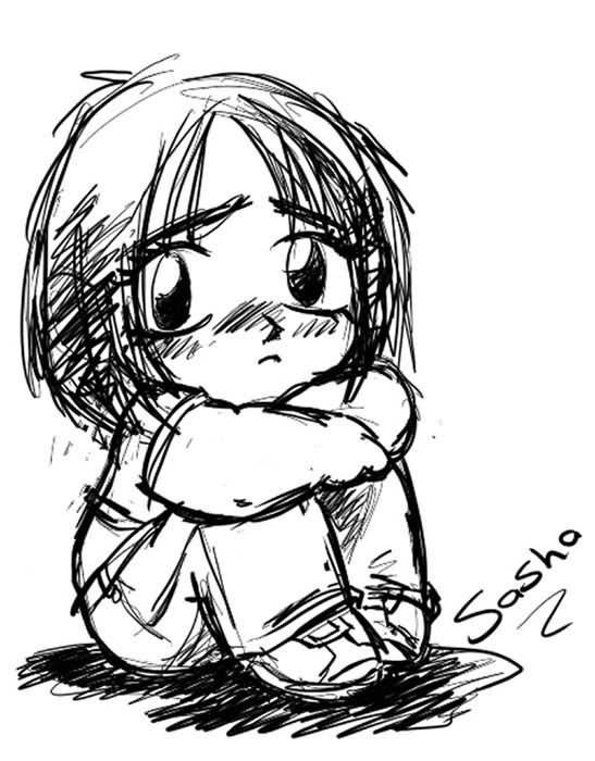 547x700 Sad Cartoon Image