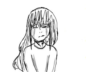 300x250 Anime Girl Sad
