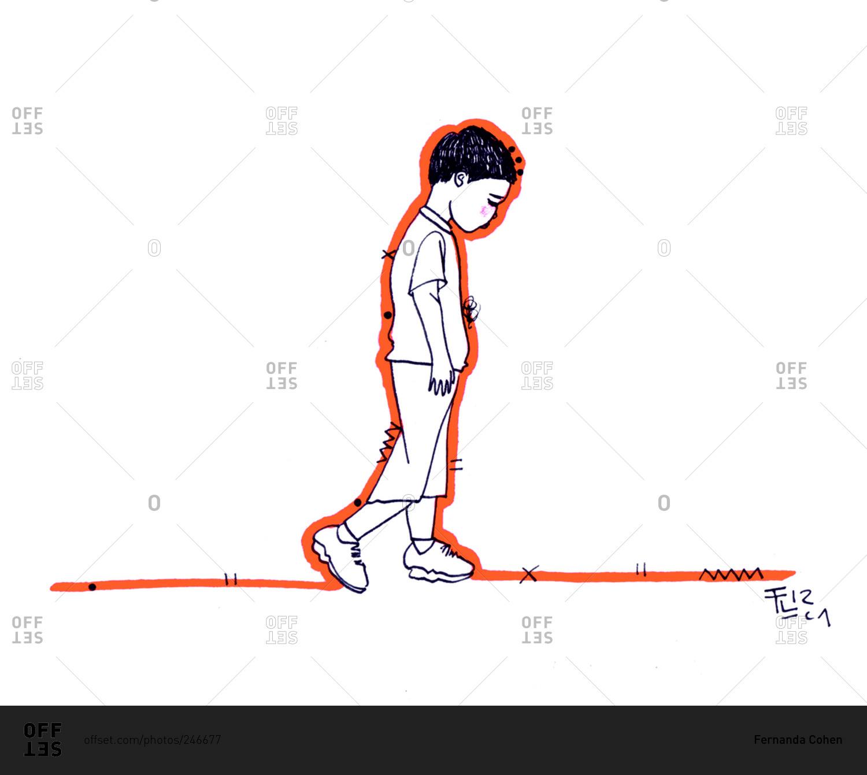 1500x1341 a sad boy sitting sketch stocks a sad boy sitting sketch stocks