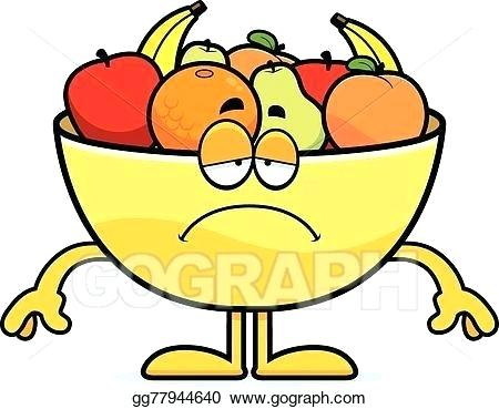 450x369 cartoon fruit drawings sad cartoon bowl of fruit tropical fruit