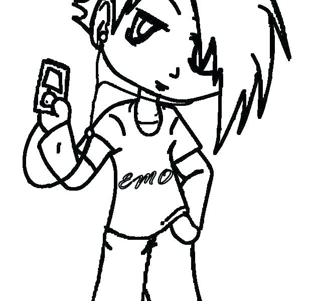 634x600 Emo Coloring Pages To Print Emo Coloring Pages To Print Sad