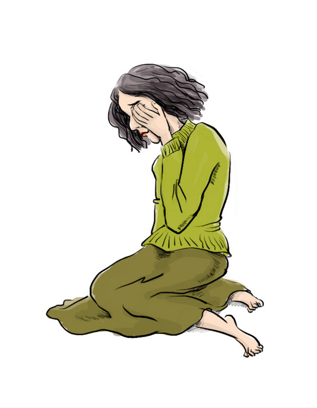 650x836 Sad Girl, Sad Clipart, Fashion, Brown Png Image And Clipart