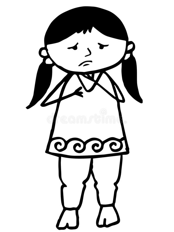 675x900 Sad Girl Thinking Clipart