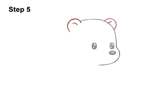 500x386 cute drawings of polar bears cute polar bear cute polar bear