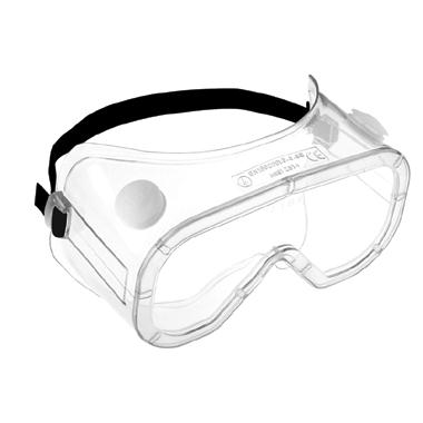 380x380 anti mist safety goggle