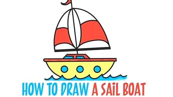 600x337 steps to draw a boat lesson drawing a boat steps to draw boat