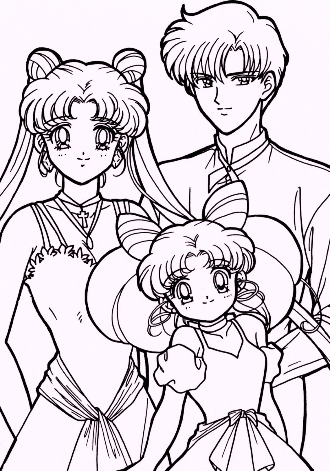 sailor moon drawing book | free download on clipartmag