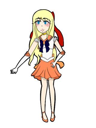 Sailor Venus Drawing