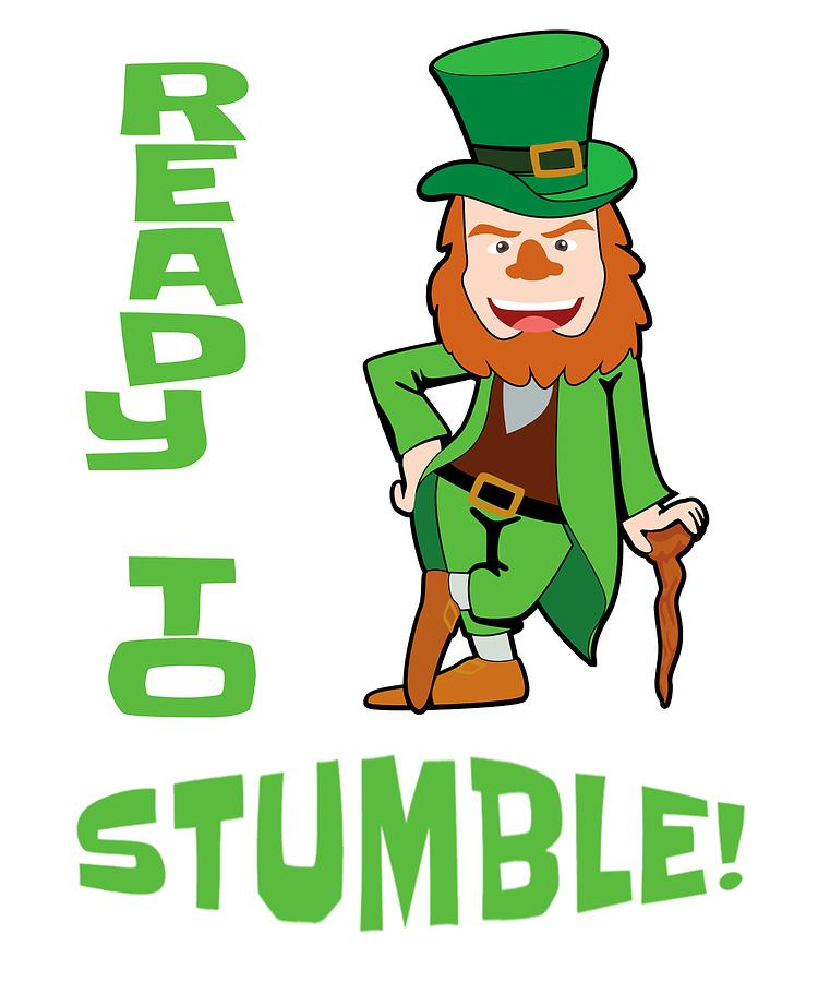 750x900 St Patricks Day Ready To Stumble Leprechaun Drawing