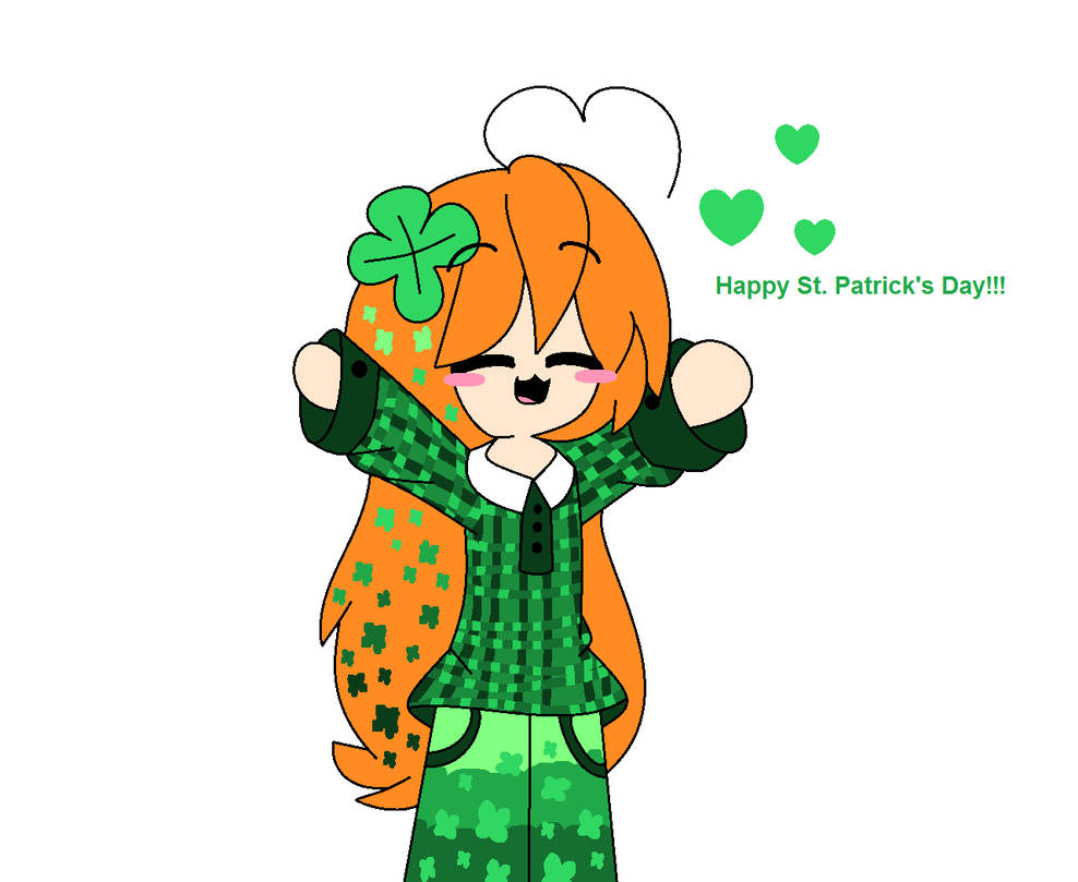 988x809 St Patrick's Day Drawing