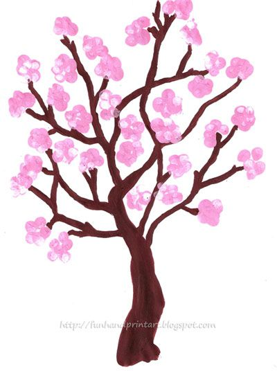 400x536 Collection Of 'cherry Blossom Tree Drawing Easy' Download More
