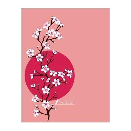 459x459 Cherry Blossom Tree Sketch Cherry Blossom Mural Drawing Cherry