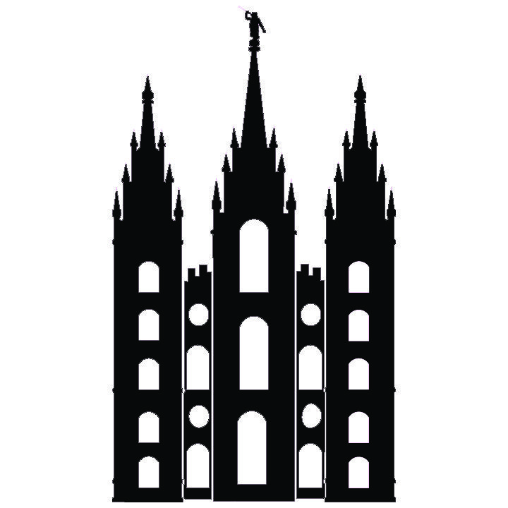 720x720 salt lake temple silhouette simple salt lake city temple