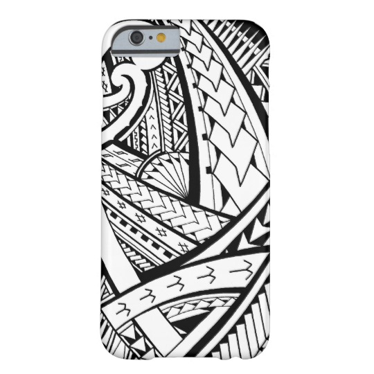540x540 samoan tribal tattoo design with spearheads case mate iphone case