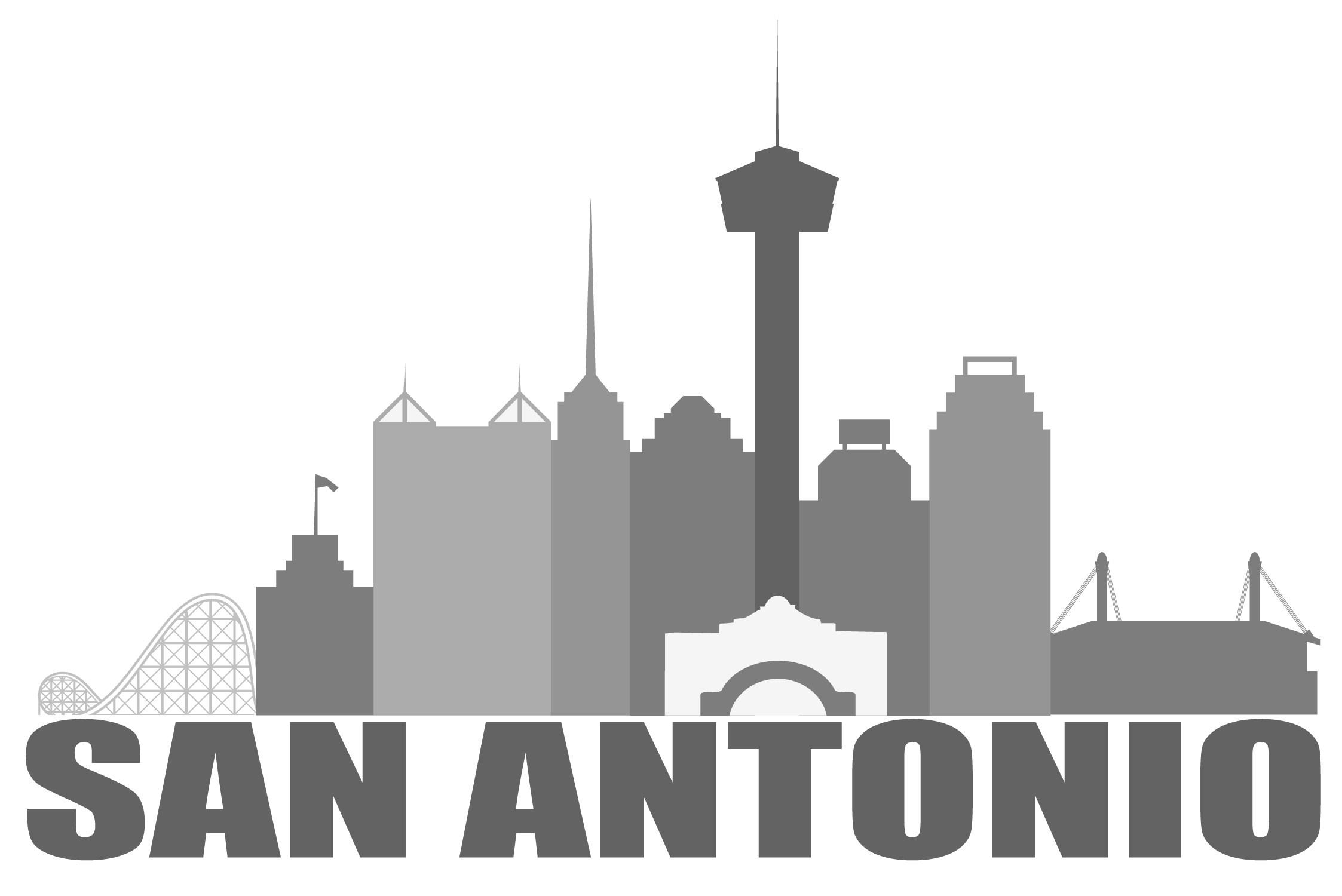 2246x1500 San Antonio Drawings Skyline Tatto