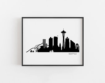 340x270 Skyline Art Etsy