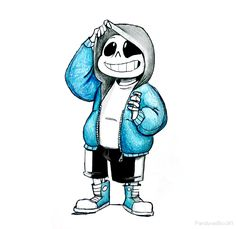 Sans The Skeleton Drawing