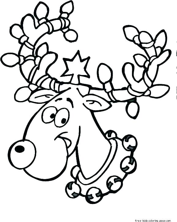 Santa And Reindeer Drawing | Free download on ClipArtMag