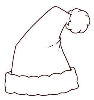 Christmas Hat Drawing Easy.Santa Claus Images For Drawing Free Download Best Santa