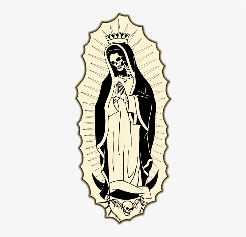 Santa Muerte Drawing | Free download best Santa Muerte