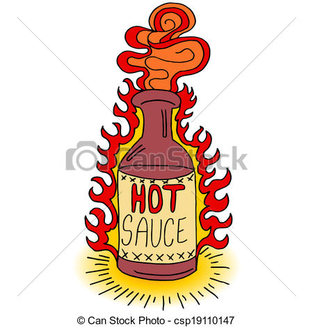450x470 Hot Sauce Bottle An Image Of A Hot Sauce Bottle